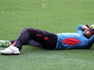 ICC WC 15 – Bangladesh training session