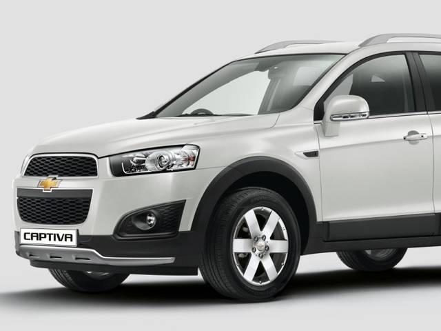 General Motors India launches updated version of Captiva