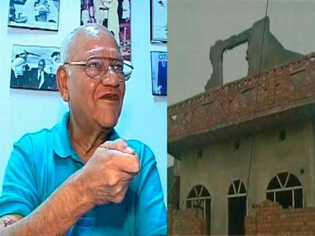Former IPS officer Julio Ribeiro questions