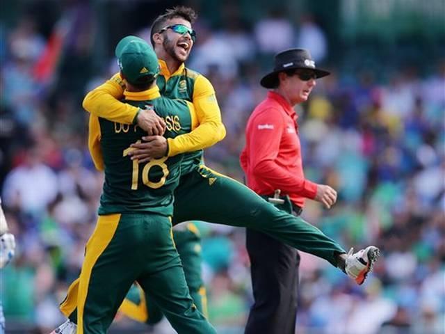 World Cup 2015_JP Duminy_Hat-Trick_Sri Lanka_South Africa_
