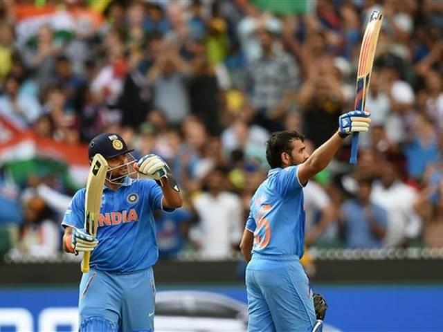 World Cup 2015_Rohit Sharma_Bangladesh_Mahendra singh Dhoni_Team India_Bangladesh_Quarter Final_