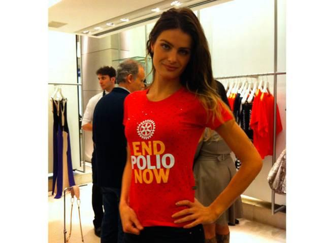 I'll fight till end for a polio free world says isabeli fontana