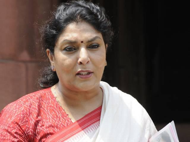 a case registered against renuka chaudhary