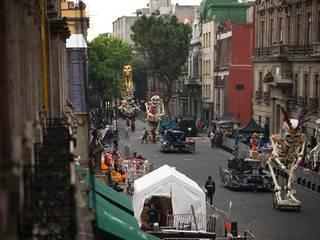"""On location shoot: """"Spectre,"""" the most recent 007 James Bond movie"""