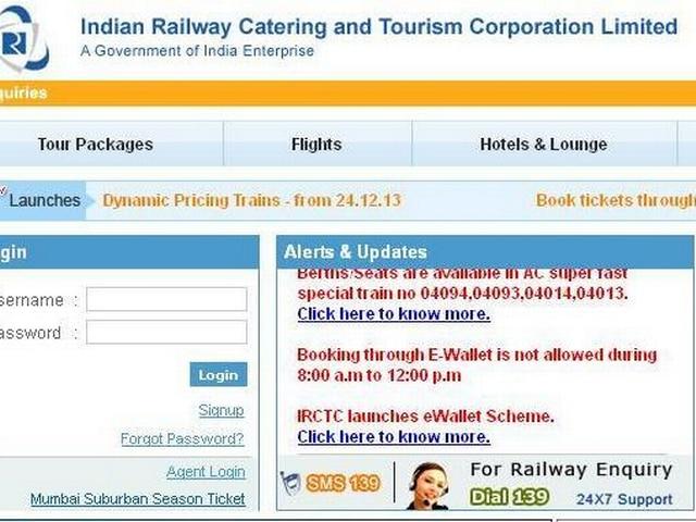 Indian Railway_IRCTC_