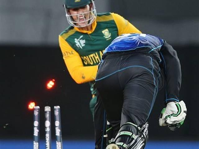 World Cup 2015_Semi Final_New Zealand_South Africa_Trent Boult_Hashim Amla_De Cock_