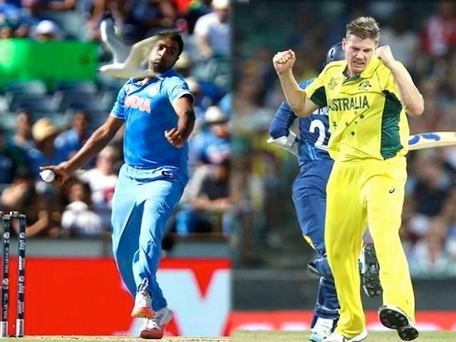 World Cup 2015_Team India_Australia_Semi Final_Shikhar Dhawan_Rohit Sharma_Mitchell Starc_Mohammad Shami_