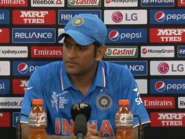 World Cup 2015_Team India_Mahendra Singh Dhoni_Captain_