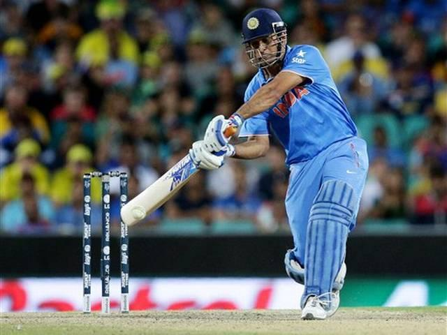World Cup 2015_Dhoni_Semi Final_