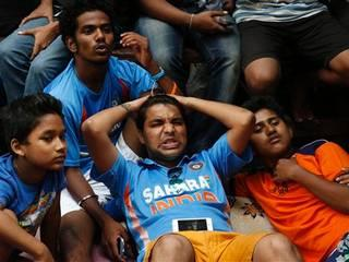 Angry fans break television set after India lost to Australia – World Cup 2015