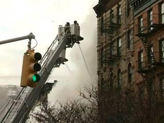 19 people injured in massive explosion in NYC building