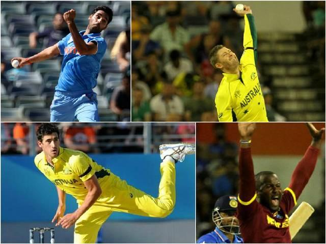 World Cup 2015_Michael Clarke_Mitchell Starc_Bhuvneshwar Kumar_James Tredwell_Dwayne Smith_Best Economy Rate