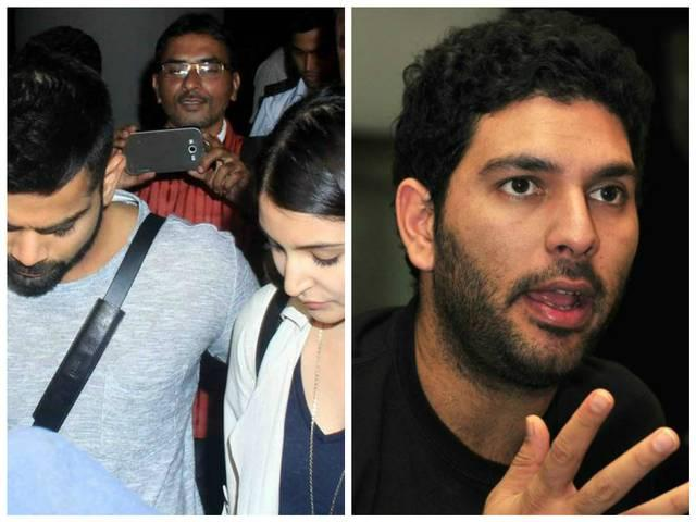 YUVRAJ SINGH REQUEST TO FANS PLEASE DO NOT COMMENT ON VRAT-ANUSHKA