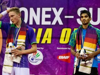 Yonex Sunrise_India_ K. Srikanth_Open_Badminton_New Delhi