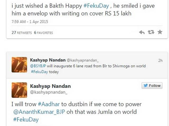 Twitter targets PM Modi with #FekuDay, Arvind Kejriwal also targeted