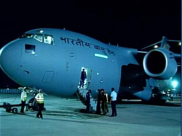 IAF plane carrying 190 Indian nationals lands in Mumbai