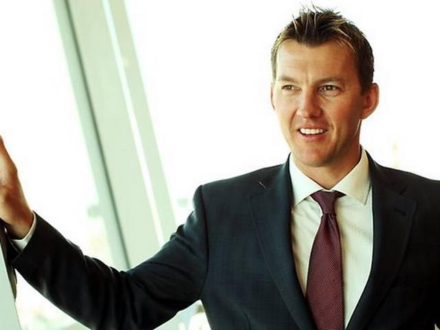 Brett Lee took time off commentary to dance in film