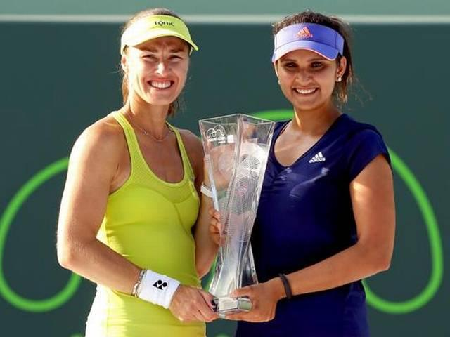 Sania wins 25th career doubles title with trophy in Miami