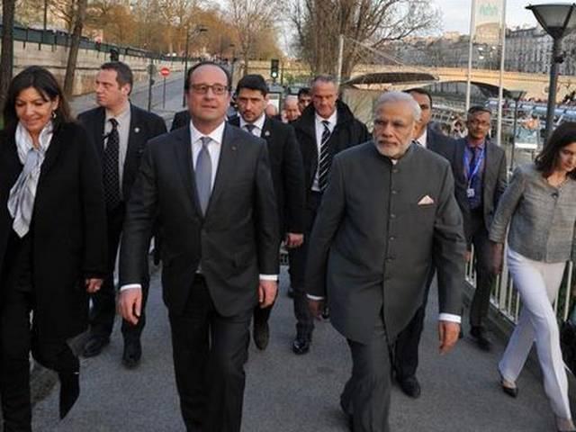 Narendra Modi_France_