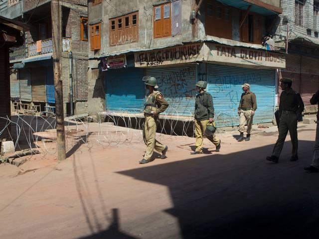 Strike in Kashmir affects normal life