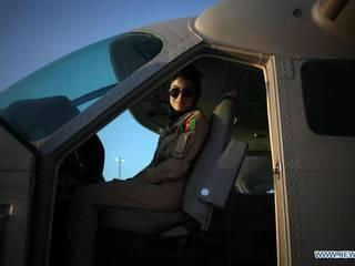 afghanistan gets its first female pilot, Nilofar