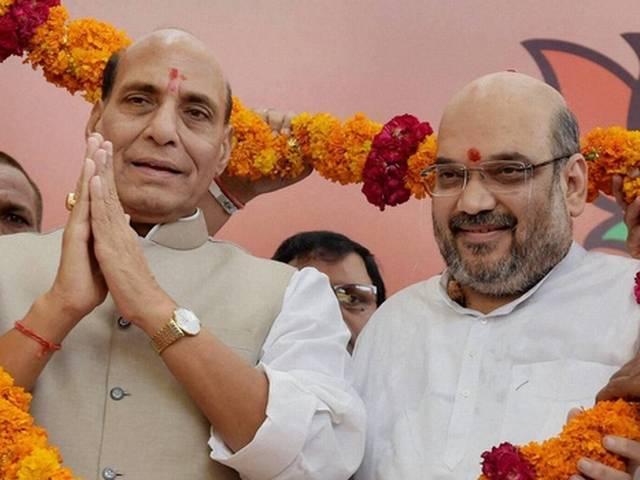 Amit Shah, Rajnath Singh to launch BJP Bihar poll campaign today