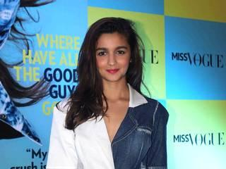 Meet Miss Vogue Alia Bhatt