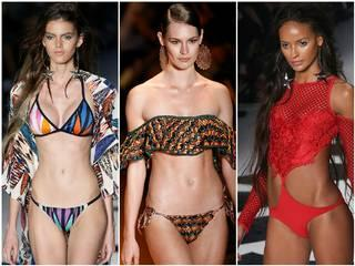 Summer collection during the Sao Paulo Fashion Week.