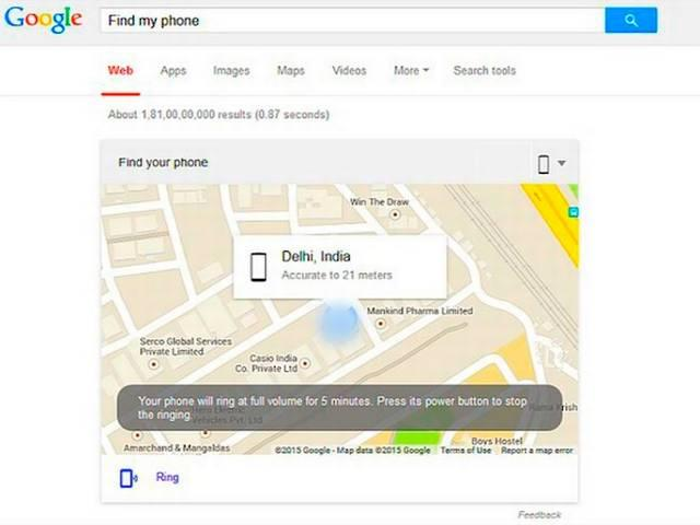 Google will help to Locate Your missing smartphone