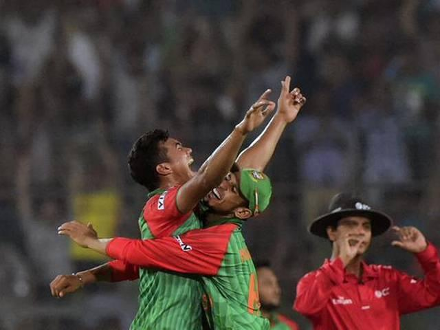Bangladesh beat pakistan
