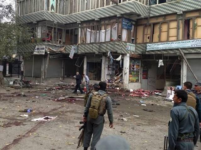 Afghanistan suicide bomb in Jalalabad leaves many dead