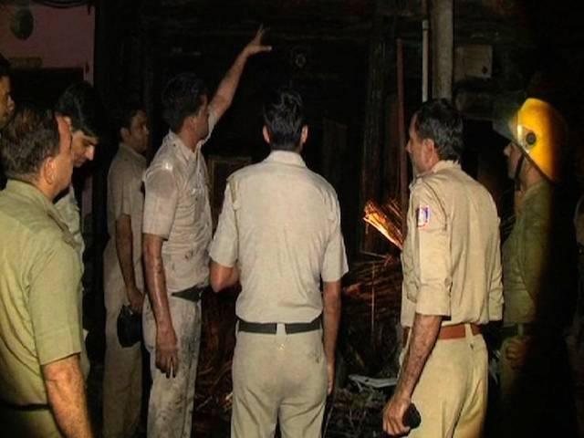 Fire In Delhi_2 Dead_More Than 15 Injured_