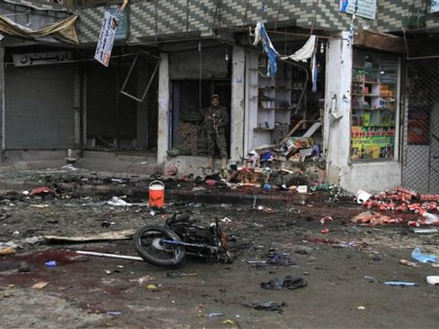 At least 35 people were killed in a suicide bomb