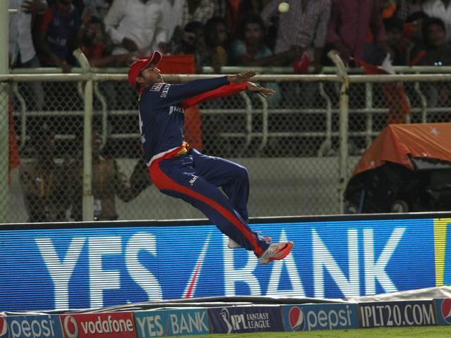 Delhi Daredevils_Sunrisers Hyderabad_Mayank Aggarwal_