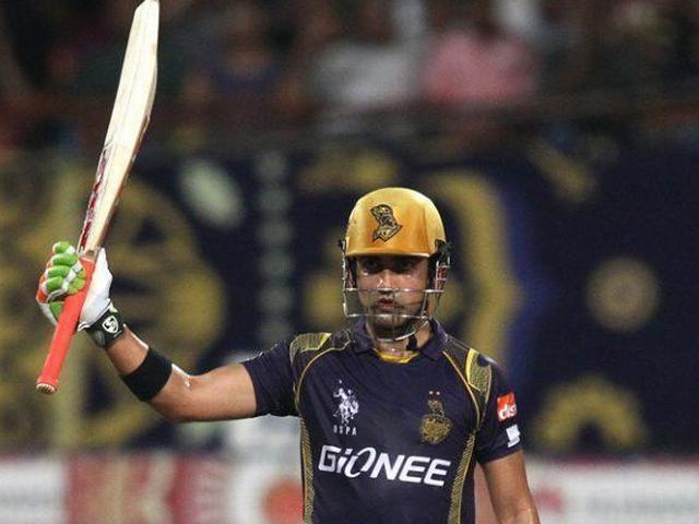IPL_Gautam Gambhir_Kolkata Knight Riders_Captaincy_Most Fifties_