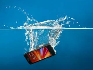 Dropped your phone in water