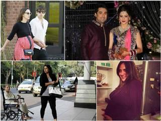 Pregnant celebs set to welcome their newborns