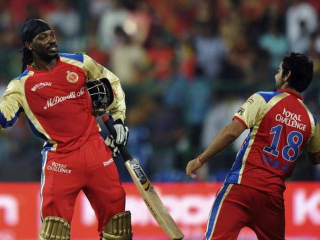Gayle opted out of Chennai clash