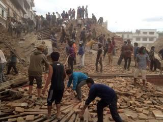 Nepal earth quake_