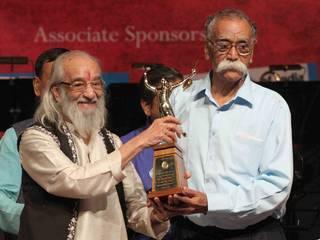 Actor Anil Kapoor receive Master Dinanath Mangeshkar Awards