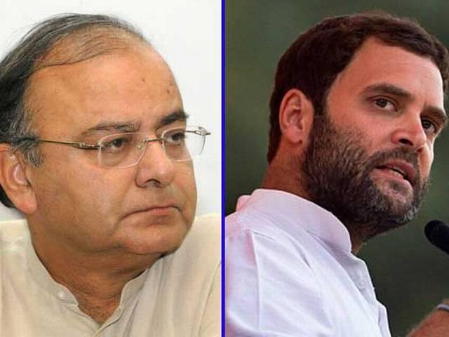 Rahul Gandhi raising an issue everyday to get the limelight: Arun Jaitley