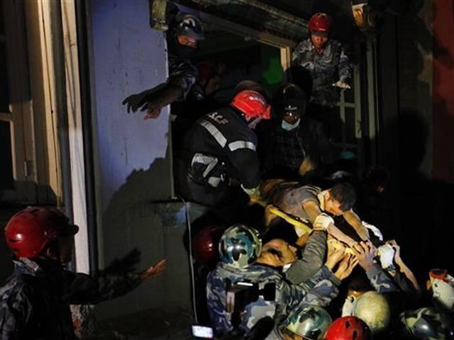 Nepal quake survivor drank urine while trapped for 82 hours