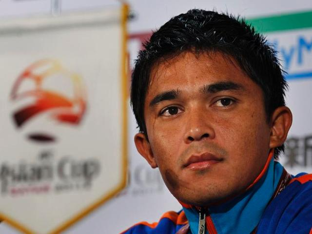 EARTHQUAKE_sunil chhetri