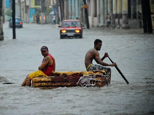 cuba flood