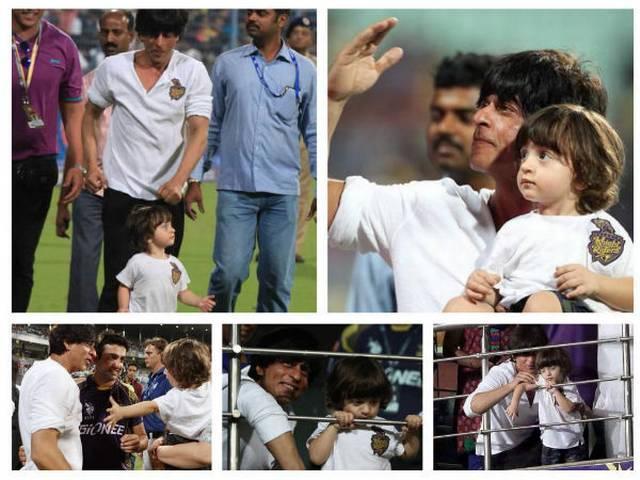 Shahrukh khan tweeted about abram