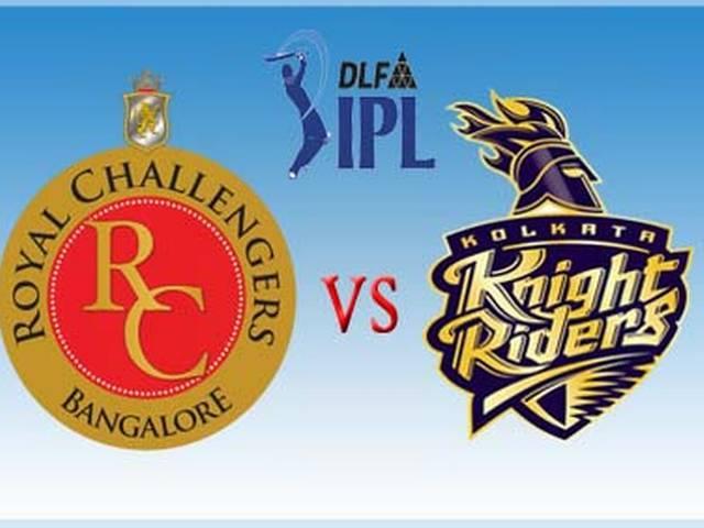 Royal Challengers Bangalore_Kolkata Knight Riders