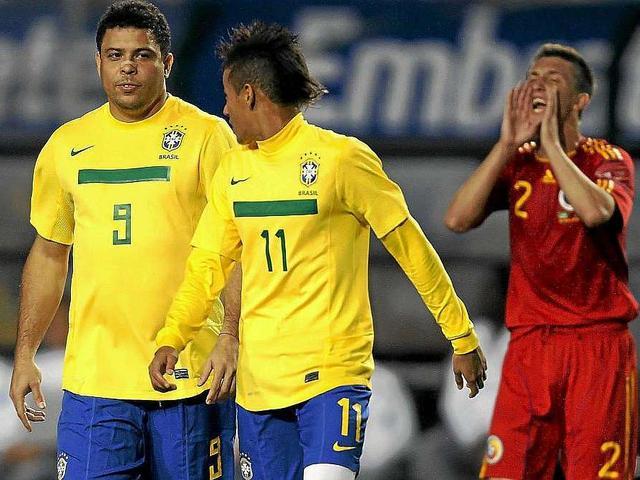 ronaldo on neymar