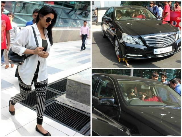 Mumbai: Bollywood actor Asin car seized by the police