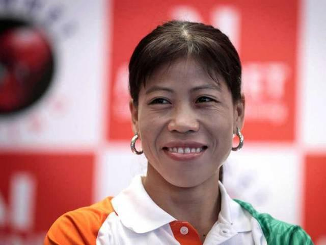 Boxer MC Mary Kom