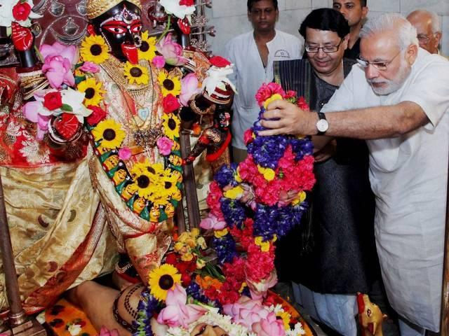 Kolkata_Prime Minister Narendra Modi_Dakshineswar Kali Temple